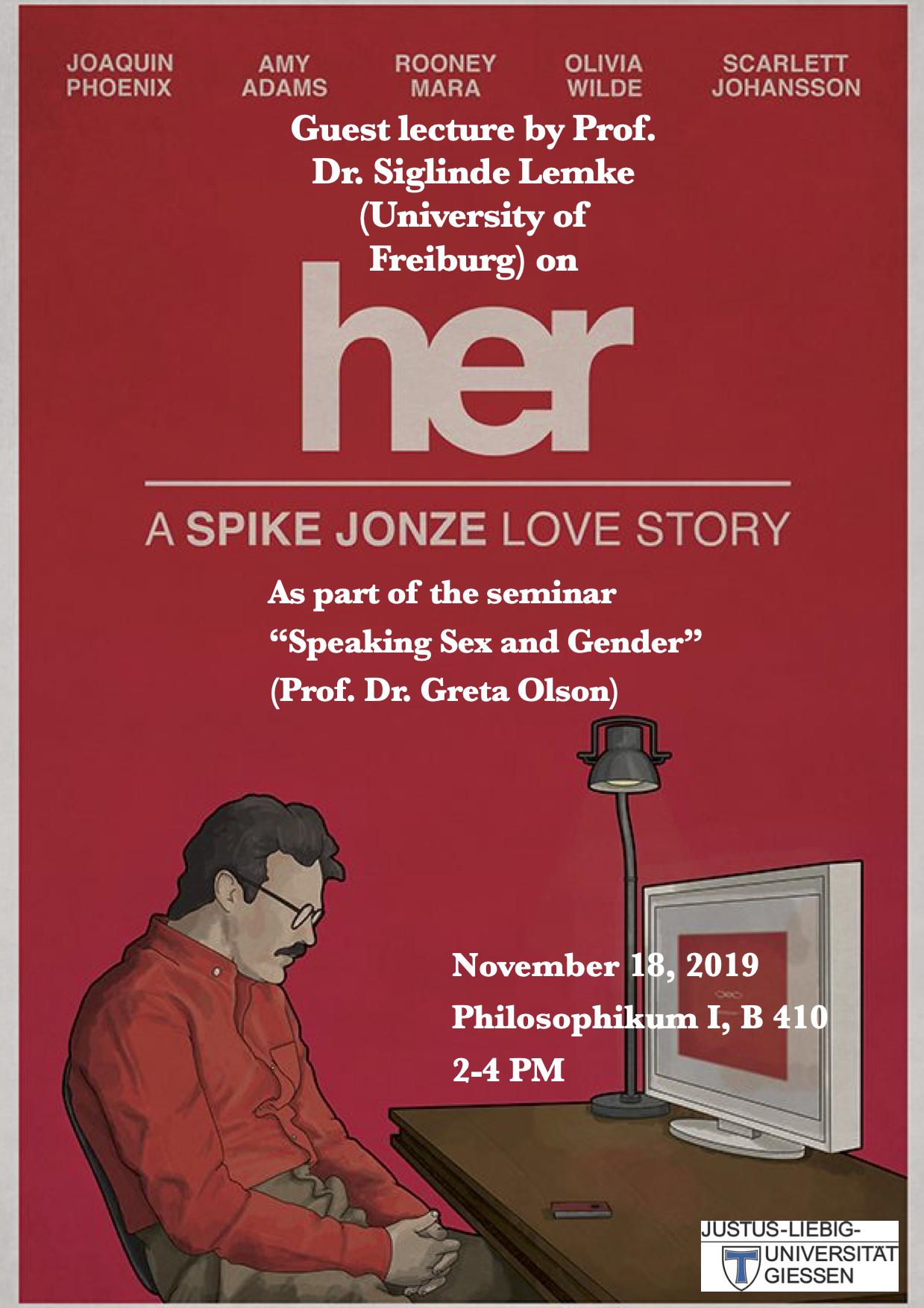 Lemke guest lecture poster